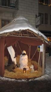 Crèche de Noël érythréenne à Sion