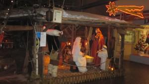 Crèche de Noël italienne à Sion