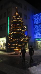 Sapin de Noël à Sion