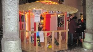 Crèche de Noël sri-lankaise à Sion