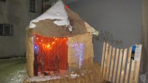 Crèche de Noël du Togo à Sion
