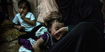 © ACNUR/O. Laban-Mattei. Une mère syrienne et sa fille réfugiées à Amman, en Jordanie. (CC BY-NC-SA 2.0). Auteur: AcnurLasAméricas