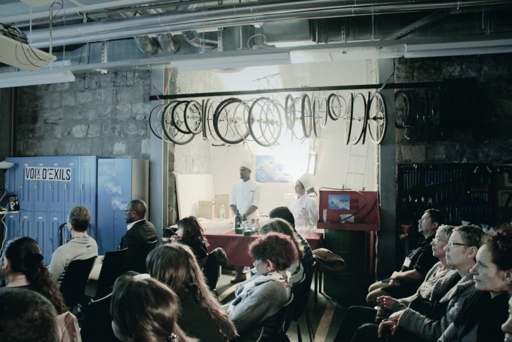 Le public est attentif. Auteure: Mariana Nanzer.