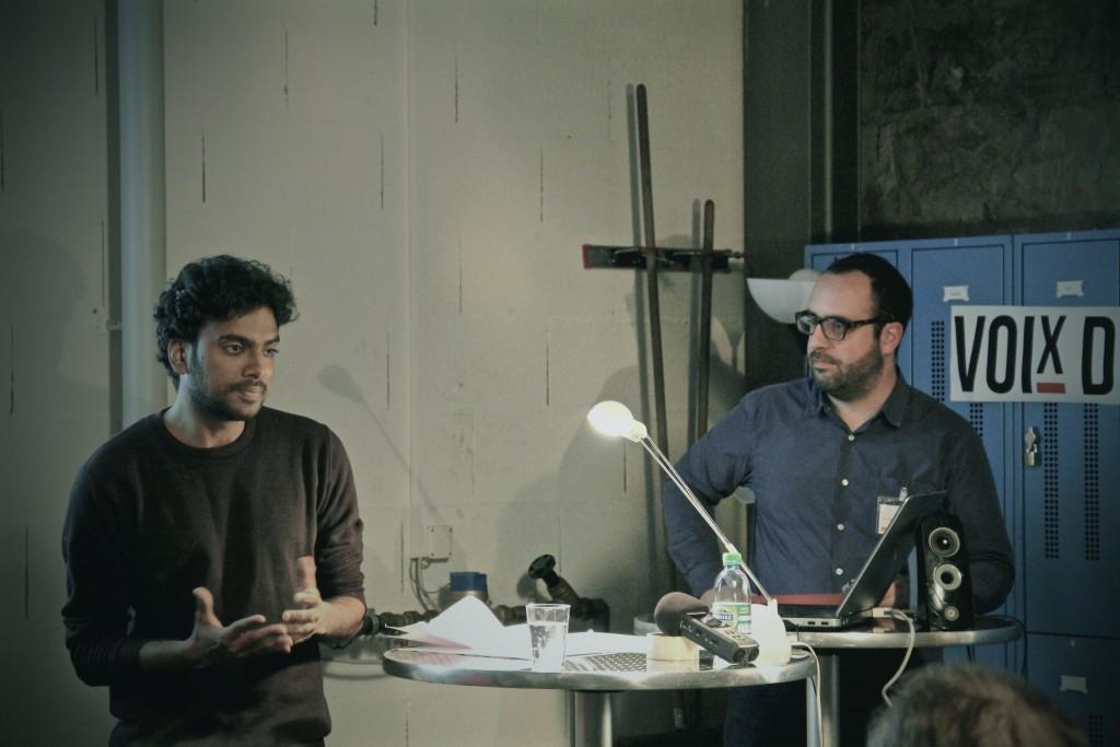 Keerthigan Sivakumar & Omar Odermatt. Auteure: Mariana Nanzer.