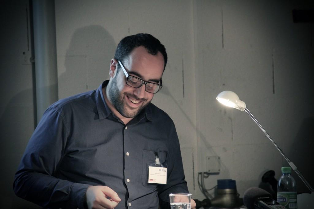Omar Odermatt, responsable de la rédaction. Auteure: mariana Nanzer