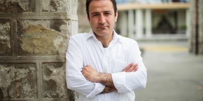 Renens, mardi 3 mai 2016 Portrait d'Aram Karim, photojournaliste irakien et réfugié en suisse à Renens  Quotidien de La Côte / Sigfredo Haro