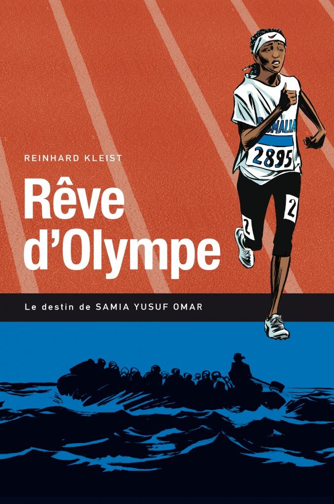 « Rêve d'Olympe » de Reinhard Kleist paru en juin 2016 aux éditions : La Boîte à Bulles. Page de couverture.