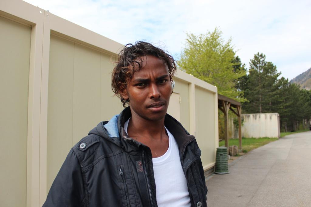 Image: Gorgi, membre de la rédaction vaudoise de Voix d'Exils.