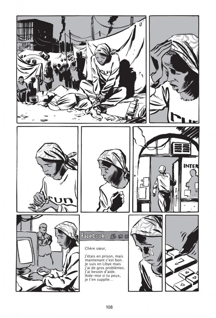 « Rêve d'Olympe » de Reinhard Kleist paru en juin 2016 aux éditions : La Boîte à Bulles p.108