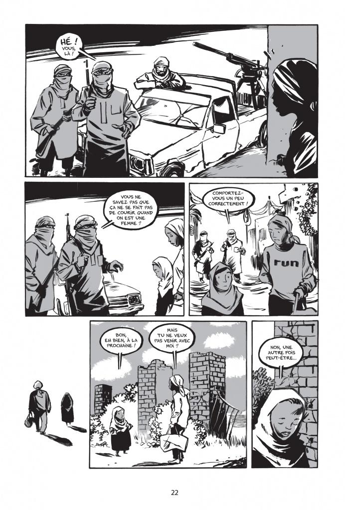 « Rêve d'Olympe » de Reinhard Kleist paru en juin 2016 aux éditions : La Boîte à Bulles p.55