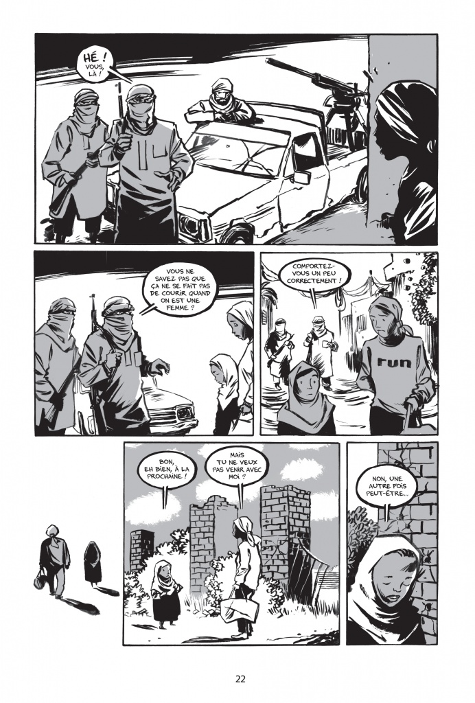 « Rêve d'Olympe » de Reinhard Kleist paru en juin 2016 aux éditions : La Boîte à Bulles p.22