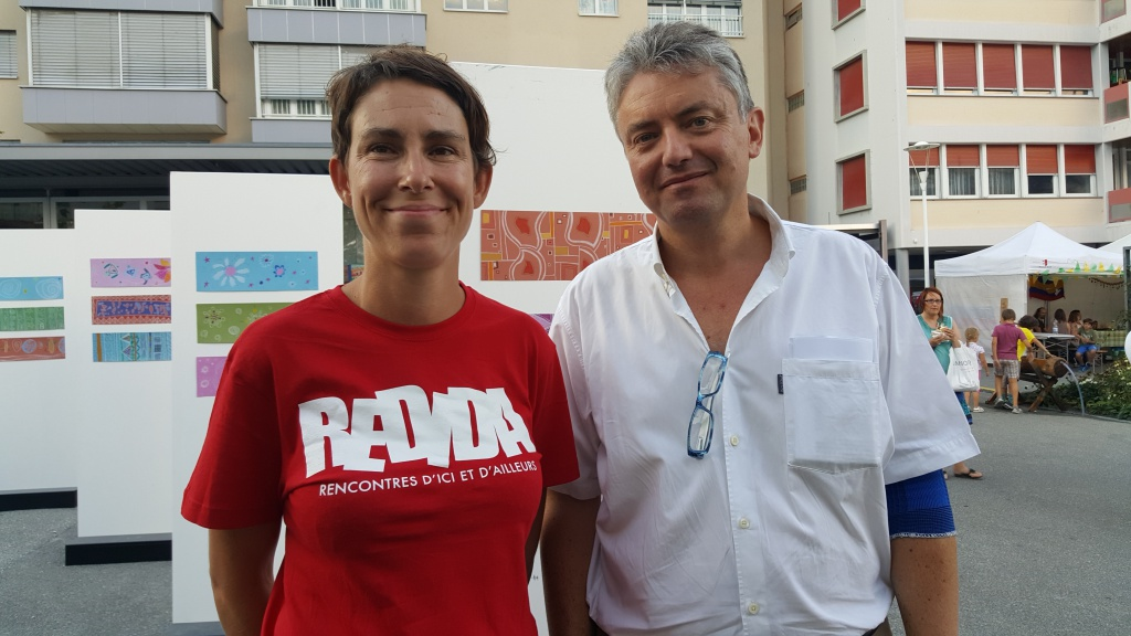 Christel Jost Sawadogo et Jean-Pascal Fournier.
