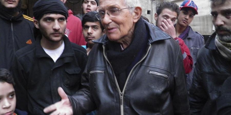 Le père Frans en Syrie