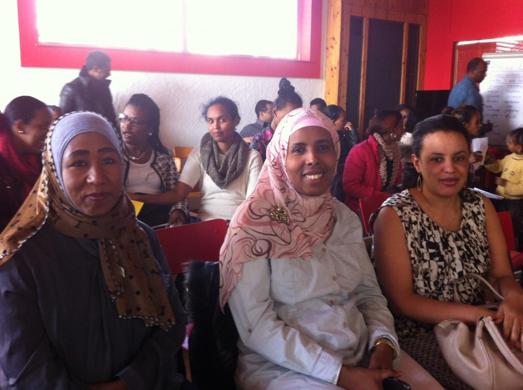 Photo: Moumouni Ibrahim, membre de la rédaction valaisanne de Voix d'Exils