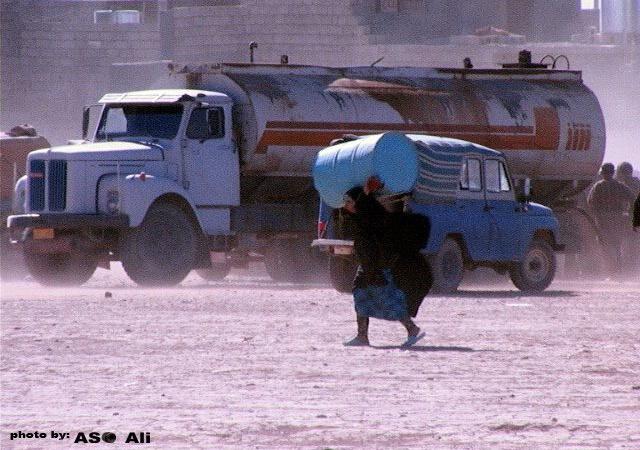 Photo : auteur Aso Ali, photographe irakien. Photo prise à Kalar, 2005. Photo primée en novembre 2012 au Kurdistan, Heartland Alliance.