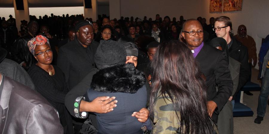 Les funérailles de Hervé Bondembe Mandundu